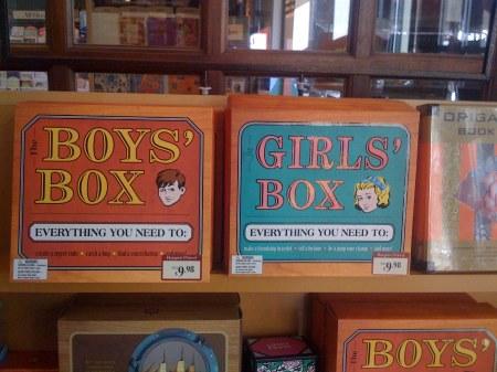 Boy's Box and Girl's Box!